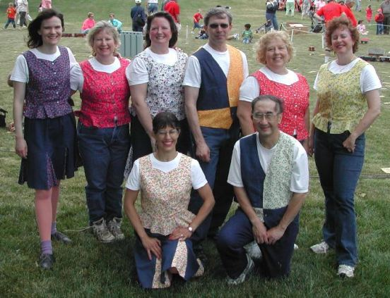 Calico Cloggers at Manassas Railroad Festival