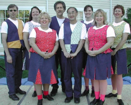 Calico Cloggers at Sunrise of Springfield Country Fair