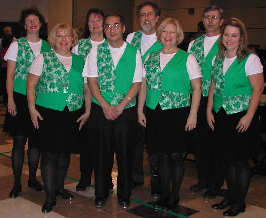 Calico Cloggers at January Ceili Dance