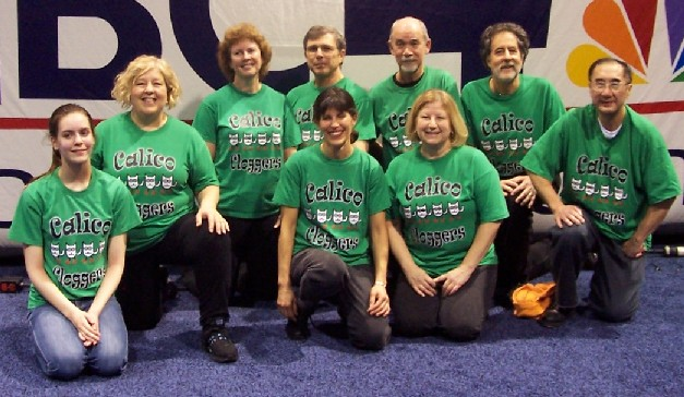 Calico Cloggers at NBC4 Health Expo