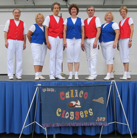 Calico Cloggers at Viva Vienna