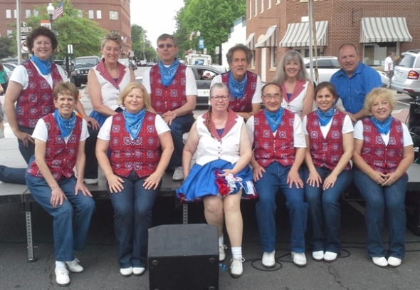 2016 Railway Festival with Bull Run Cloggers