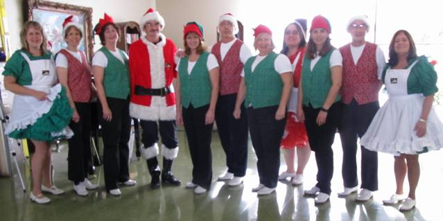 2017 Powatan Nursing Home, with the Old Dominion Cloggers